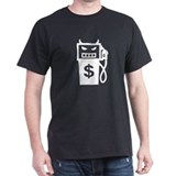 Evil Gas Pump Black T-Shirt