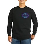 God Works In Mysterious Ways Long Sleeve Dark T-Sh