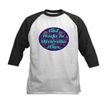 God Works In Mysterious Ways Kids Baseball Jersey