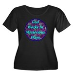 God Works In Mysterious Ways Women's Plus Size Sco