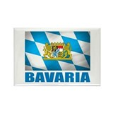 Bavaria Rectangle Magnet