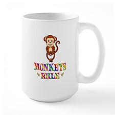 Fun Monkeys Rule Mug