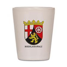 Rheinland-Falz COA Shot Glass