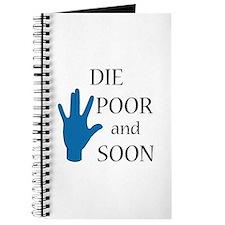 Die Poor and Soon (Humor Paro Journal