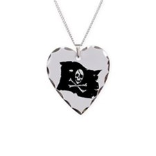 Pirate Flag Tattoo Necklace