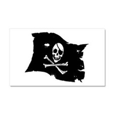 Pirate Flag Tattoo Car Magnet 20 x 12