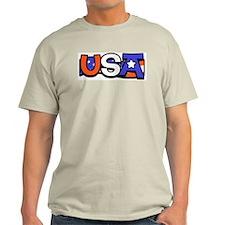 Red White & Blue USA T-Shirt