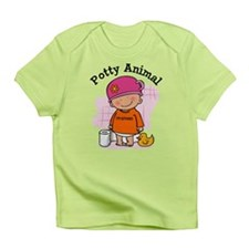 Potty Animal Girl Infant T-Shirt