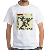 Attack of the FLUTE NINJAS Shirt