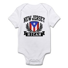 New Jersey Rican Infant Bodysuit