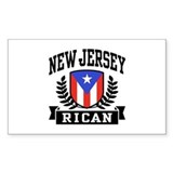 New Jersey Rican Decal