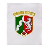 Nordrhein-Westfalen COA Throw Blanket