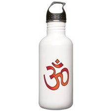 Hindu Om Aum Tattoo Water Bottle