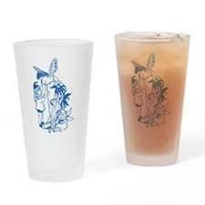 Blue Fairy & Pixie Drinking Glass