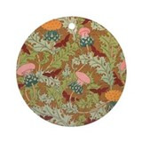 Highland Thistle Ornament (Round)