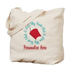 Cute I love book club Tote Bag