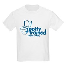 Potty Trained Kids T-Shirt