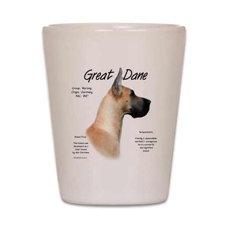 Fawn Great Dane Shot Glass