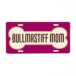 Bullmastiff Mom Pet Gift License Plate