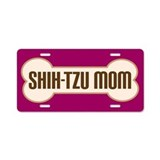 Shih-Tzu Mom Pet Gift License Plate