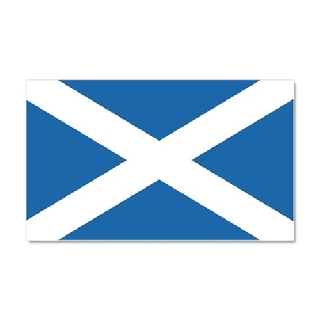Flag of Scotland Car Magnet 20 x 12