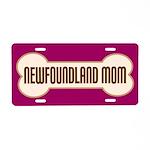 Newfoundland Mom Pet Gift License Plate