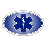 EMT / Paramedic Oval Decal