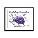 Funeral Director/Mortician Framed Panel Print
