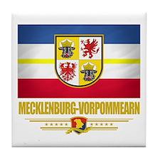 Mecklenburg-Vorpommern Pride Tile Coaster