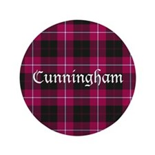 "Tartan - Cunningham 3.5"" Button (100 pack)"
