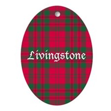 Tartan - Livingstone Ornament (Oval)