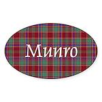 Tartan - Munro Sticker (Oval)