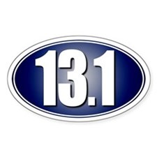 13.1 Half-Marathon Decal