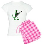 Electric Guitar Gecko Women's Light Pajamas