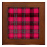 Tartan - Wemyss Framed Tile