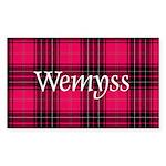 Tartan - Wemyss Sticker (Rectangle 10 pk)