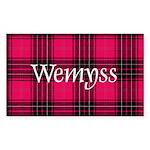 Tartan - Wemyss Sticker (Rectangle 50 pk)