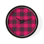 Tartan - Wemyss Wall Clock