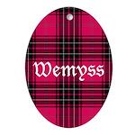 Tartan - Wemyss Ornament (Oval)