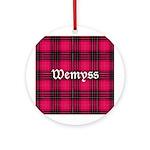 Tartan - Wemyss Ornament (Round)