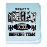 German Drinking Team baby blanket