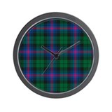 Tartan - Urquhart Wall Clock