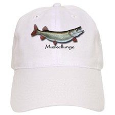 Muskellunge Fishing Hat Baseball Baseball Cap