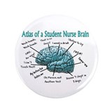 "Nursing Student IV 2011 3.5"" Button"