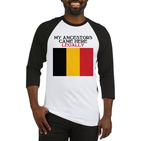 Belgian Heritage Baseball Jersey