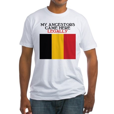 Belgian Heritage Fitted T-Shirt