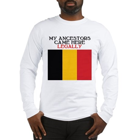 Belgian Heritage Long Sleeve T-Shirt