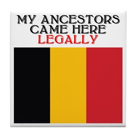 Belgian Heritage Tile Coaster