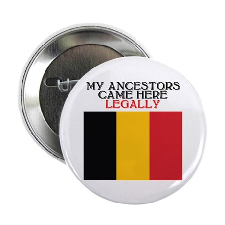 Belgian Heritage 2.25&quot; Button (10 pack)