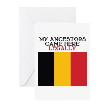 Belgian Heritage Greeting Cards (Pk of 10)